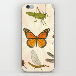 Insects on Parade iPhone Skin