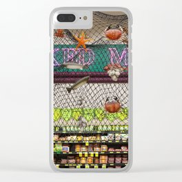 Smoked Meat Clear iPhone Case
