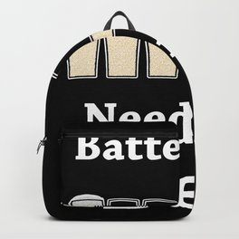 Once Charge Up Beer Backpack