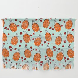 Super Canadian Maple Syrup Pattern Wall Hanging