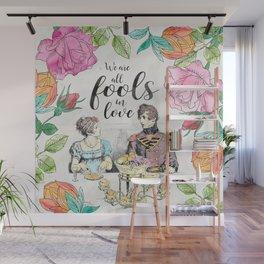 Pride and Prejudice - Fools in Love Wall Mural