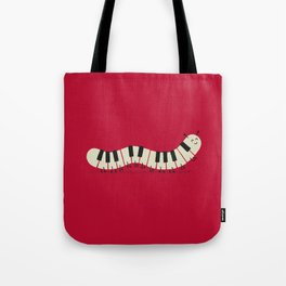 Caterpiano Tote Bag