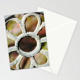 Metalic Flower Stationery Cards