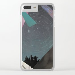 Space fencing I Clear iPhone Case