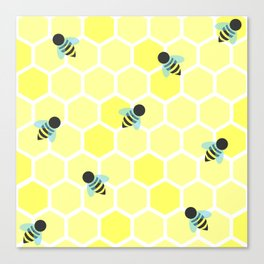 Oh Honey Canvas Print