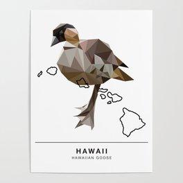 Hawaii – Hawaiian Goose Poster