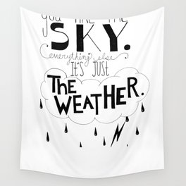 You are the sky Wall Tapestry