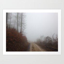 Nebel 3 Art Print