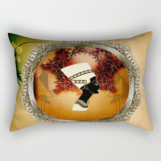 Isis, egyttian design Rectangular Pillow