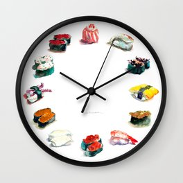 I love Sushi Wall Clock