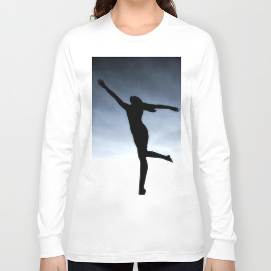 Dance to the light fantastic (Nude) Long Sleeve T-shirt