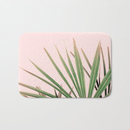 Palms blossom Bath Mat