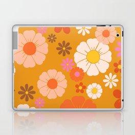 Groovy Mod 60's Flower Power Laptop & iPad Skin