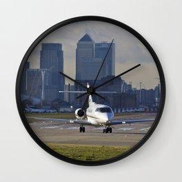 Executive Jet Wall Clock
