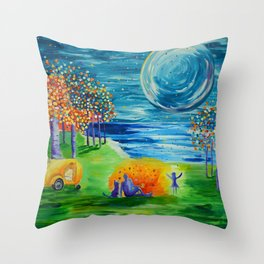 Duck Creek, Kanab, Lake Powell Throw Pillow