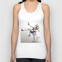 martini Tank Tops featuring Martini by Frances Roughton