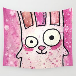 Freezer Bunny Wall Tapestry