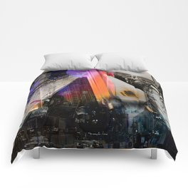 Meet me in my smooth city Comforters