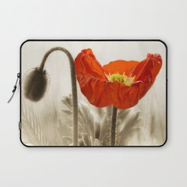 Poppy Red 0171 Laptop Sleeve