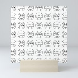 Emoji Mini Art Print