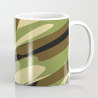 camo Mugs featuring Camo by SShaw Photographic