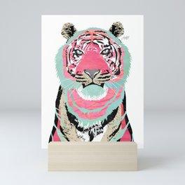 Pink Tiger Mini Art Print