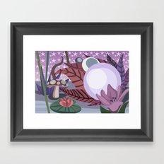 Moonlighting Framed Art Print