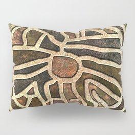 Ancestry Map Pillow Sham