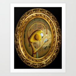 Saint Crimson Art Print