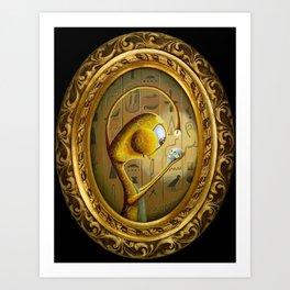 Saint Crimson Art Print