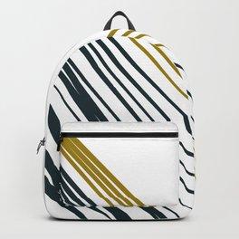 Design lines on white Backpack