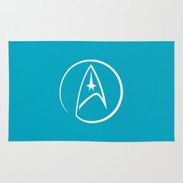 Heathen Trekkie - StarTrek 's Spock Blue Rug