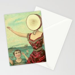 Neutral Milk Hotel – In the Aeroplane Over the Sea Stationery Cards