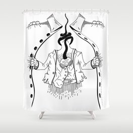 Cossack roots Shower Curtain