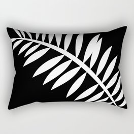 PALM LEAF WHITE LEAF Rectangular Pillow