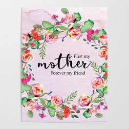 First my mother Poster