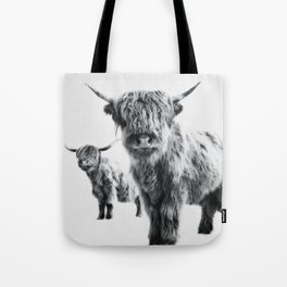 HIGHLAND COW - LULU & SARA Tote Bag