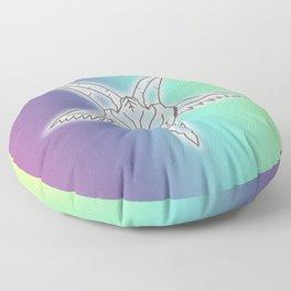 Rainbow Satan Floor Pillow
