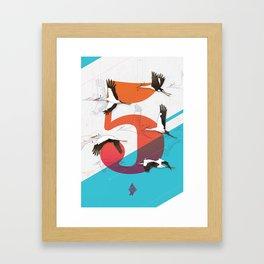 5Birds Framed Art Print