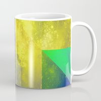 be happy Mugs featuring Happy by SensualPatterns