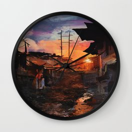 Where Heroes Are Wall Clock