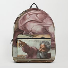 "Michelangelo ""Creation of the Sun, Moon, and Plants"" Backpack"