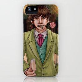 Sam in the Speakeasy iPhone Case