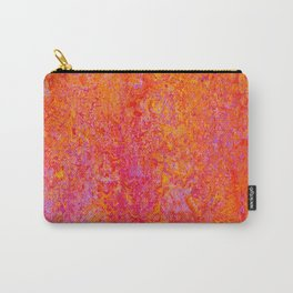 Tequila Sunrise-sunset, orange, abstract, bright, vivid Carry-All Pouch
