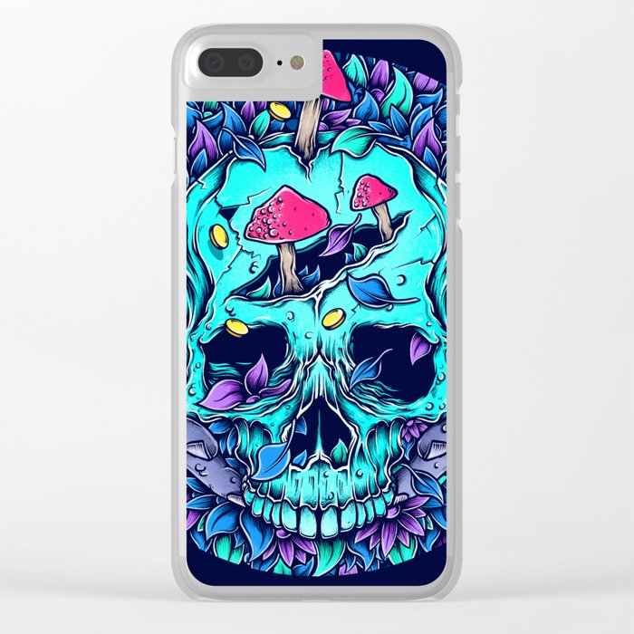 Mother Nature (ACID TRIP II) Clear iPhone Case