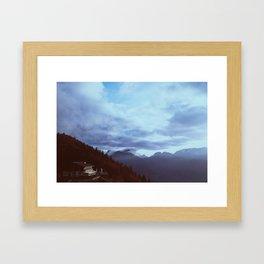 the house on the peak Framed Art Print