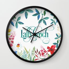 Lallybroch Wall Clock