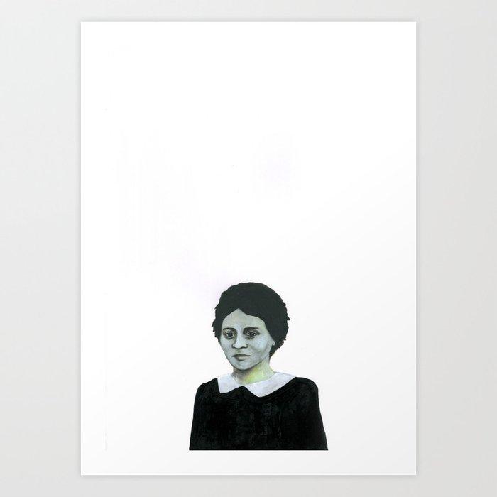 Les disparus 4 Art Print