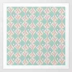 Mod Shells Art Print
