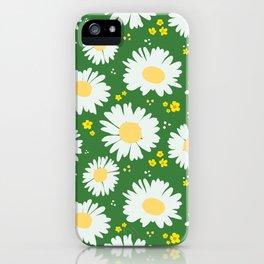 Spring Dream Daisies iPhone Case